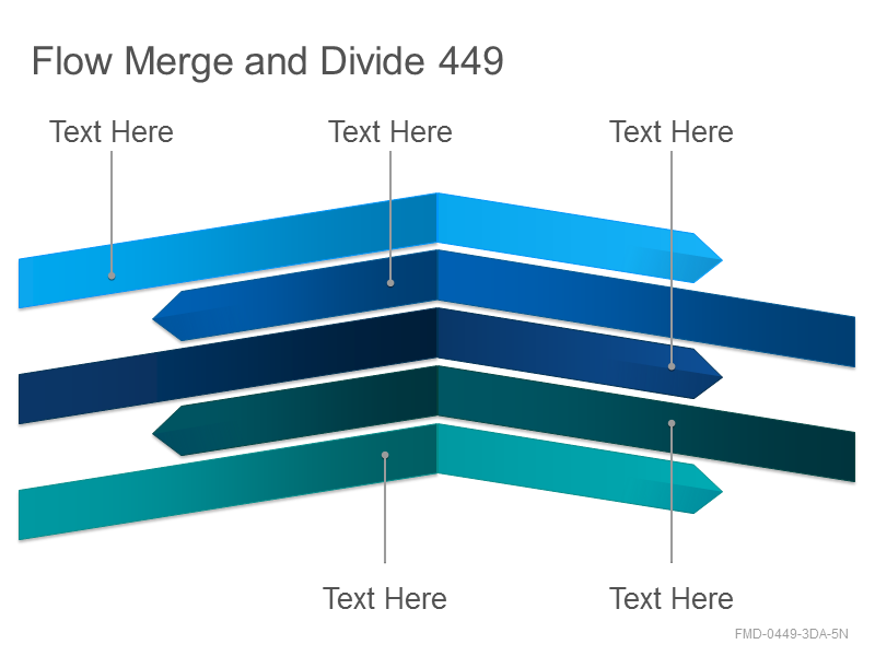 Flow Merge and Divide 449