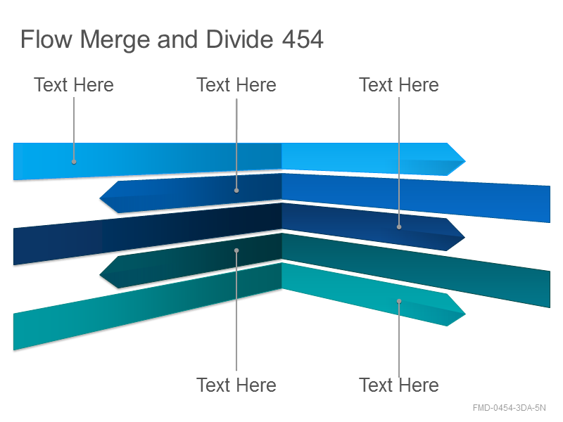 Flow Merge and Divide 454