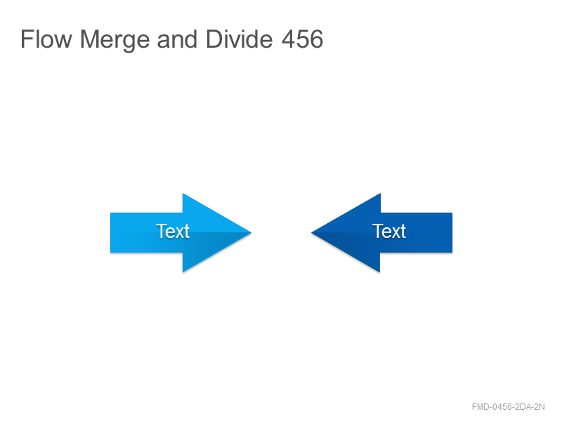 Flow Merge and Divide 456