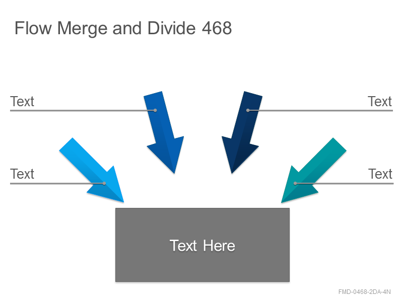 Flow Merge and Divide 468