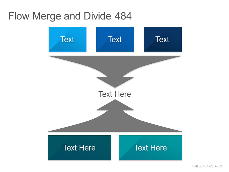 Flow Merge and Divide 484