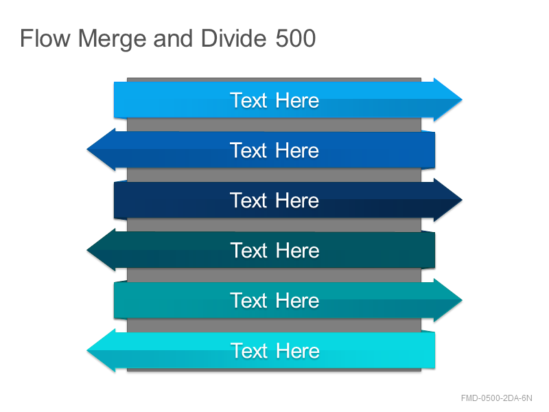 Flow Merge and Divide 500