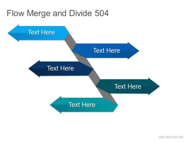 Flow Merge and Divide 504