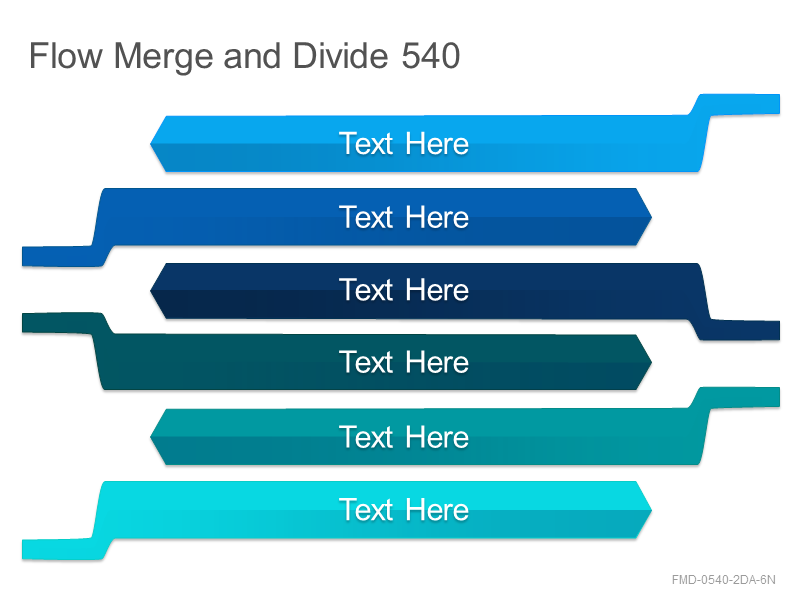 Flow Merge and Divide 540