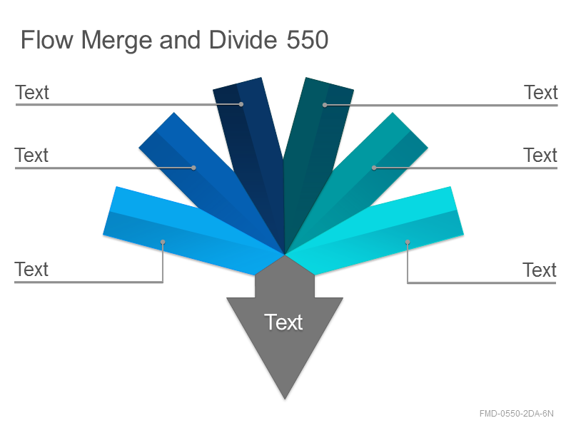 Flow Merge and Divide 550