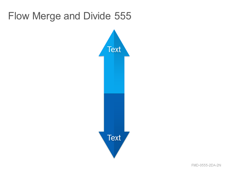 Flow Merge and Divide 555