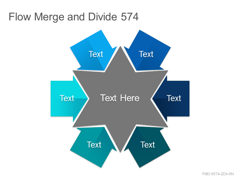 Flow Merge and Divide 574