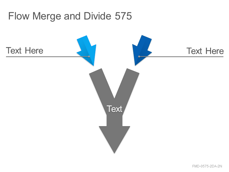 Flow Merge and Divide 575