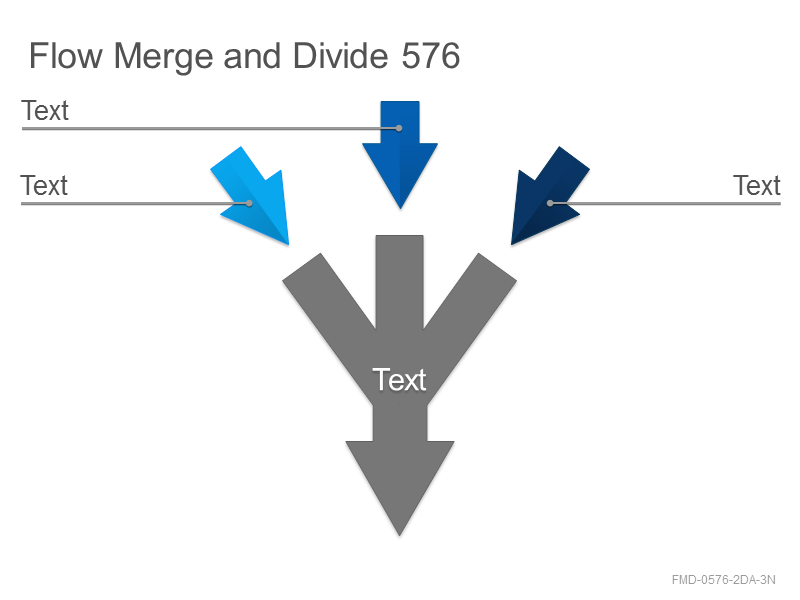 Flow Merge and Divide 576
