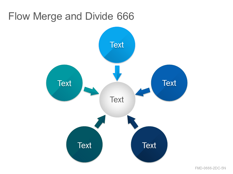 Flow Merge and Divide 666