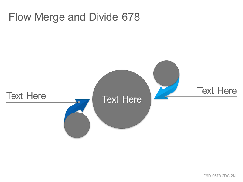 Flow Merge and Divide 678
