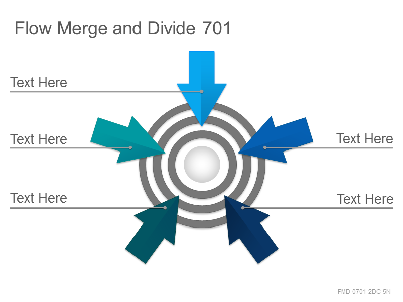 Flow Merge and Divide 701
