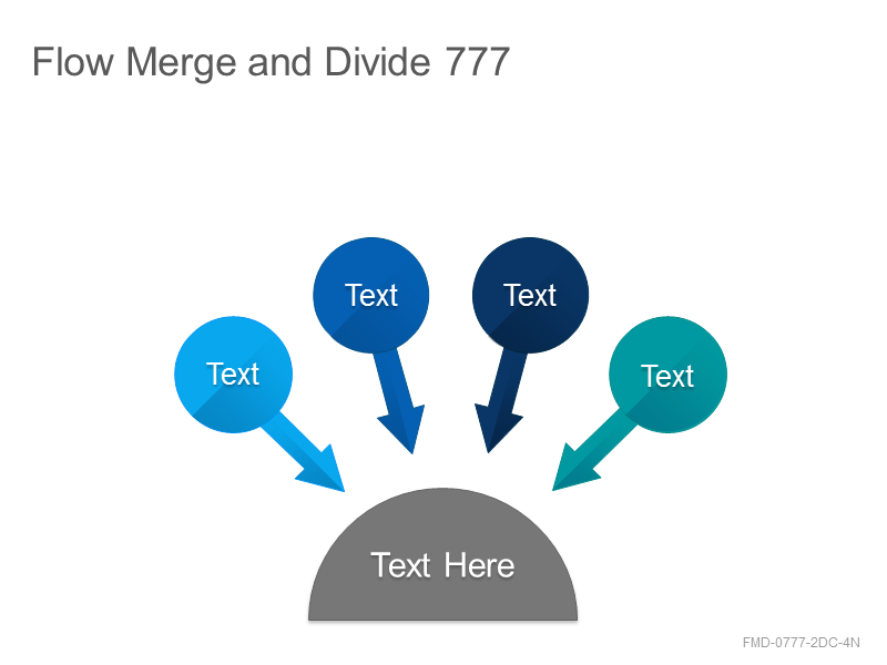 Flow Merge and Divide 777