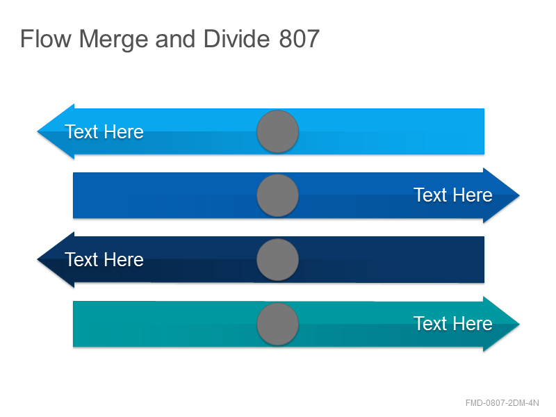 Flow Merge and Divide 807