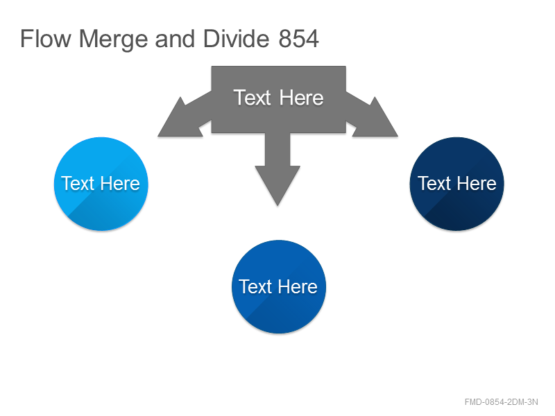 Flow Merge and Divide 854