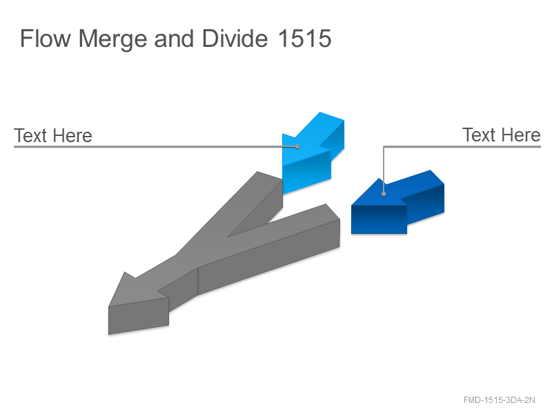 Flow Merge and Divide 1515