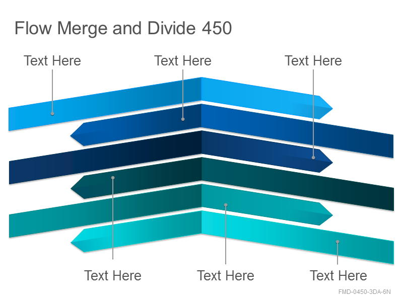 Flow Merge and Divide 450