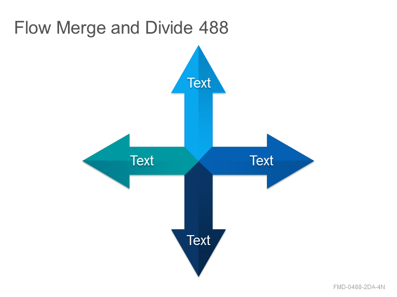 Flow Merge and Divide 488