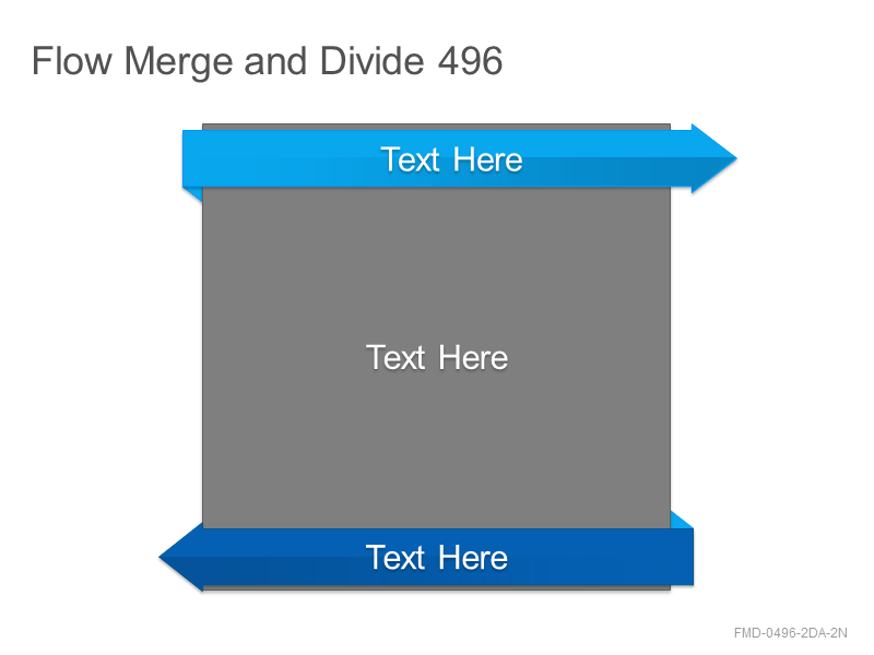 Flow Merge and Divide 496