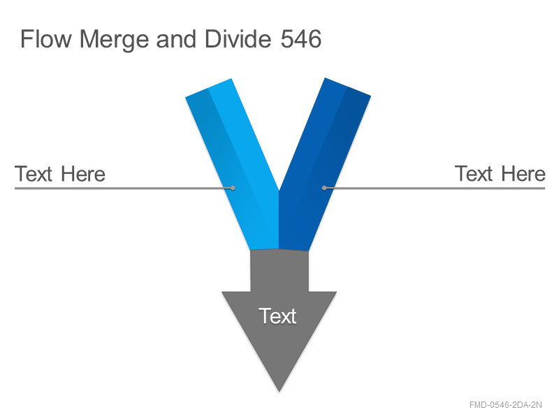 Flow Merge and Divide 546