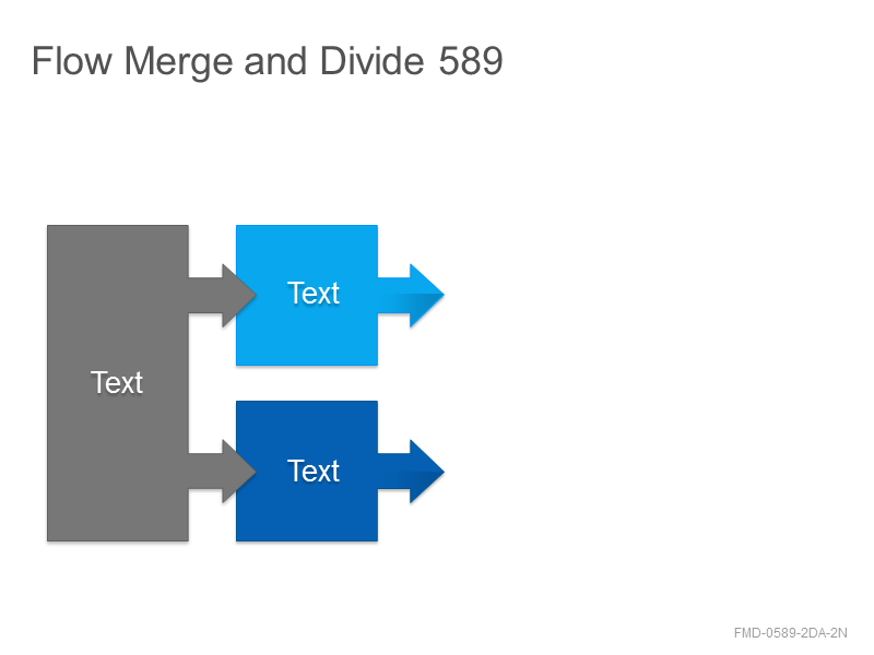 Flow Merge and Divide 589