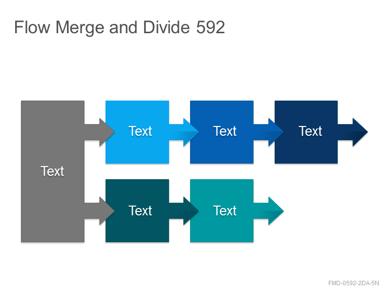 Flow Merge and Divide 592