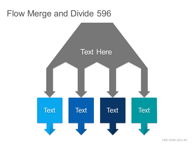 Flow Merge and Divide 596
