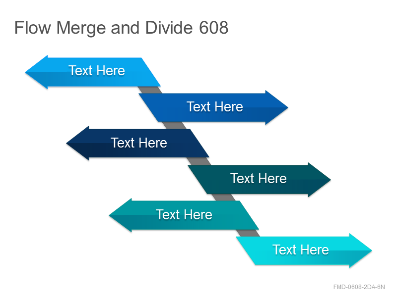 Flow Merge and Divide 608