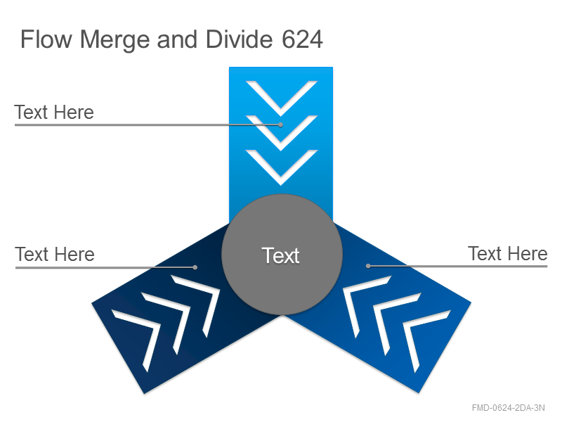 Flow Merge and Divide 624
