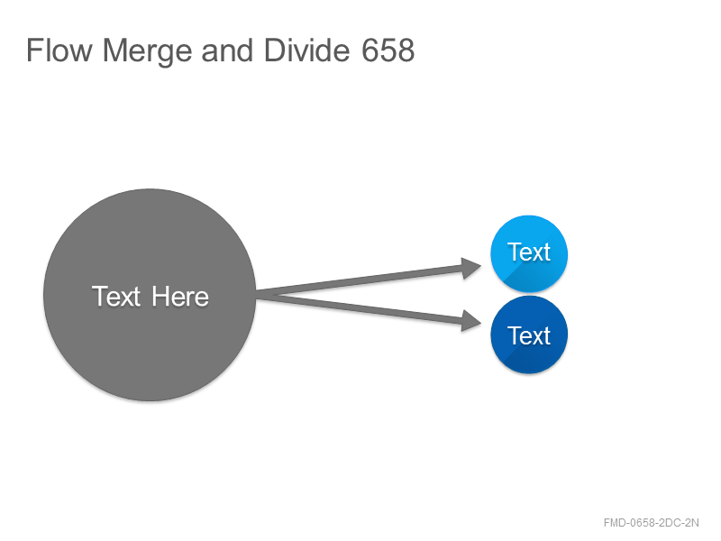 Flow Merge and Divide 658