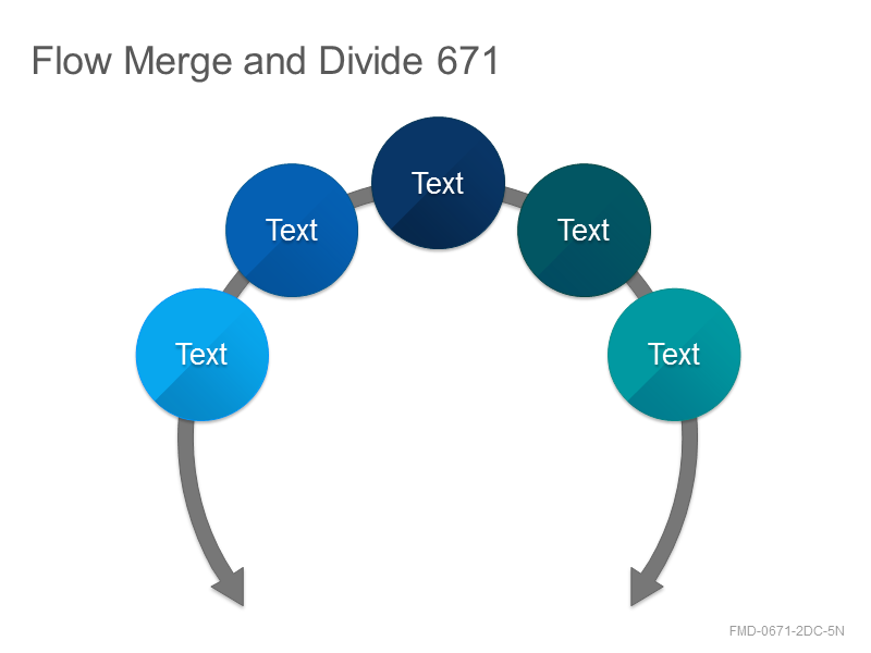 Flow Merge and Divide 671