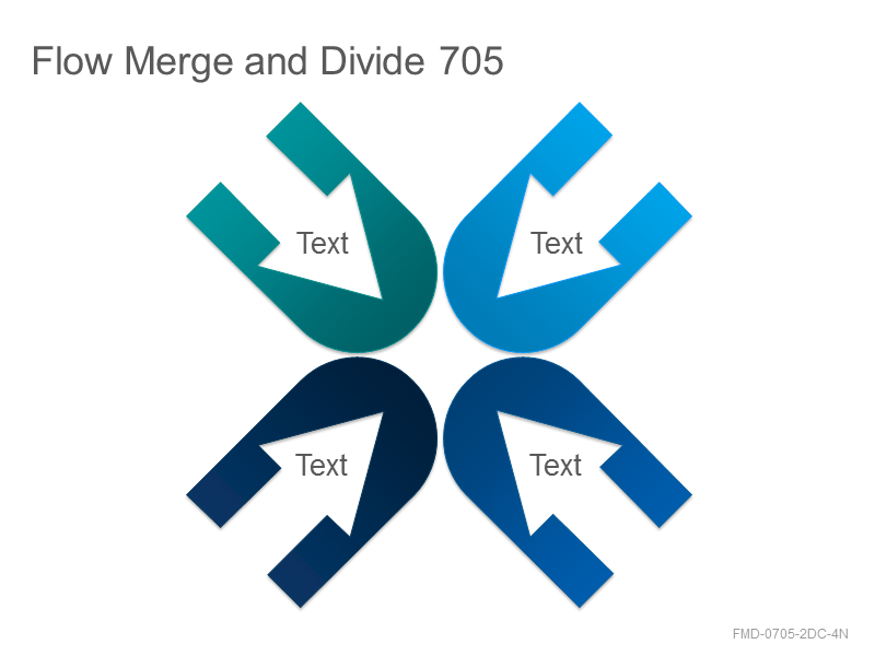 Flow Merge and Divide 705