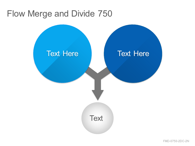 Flow Merge and Divide 750