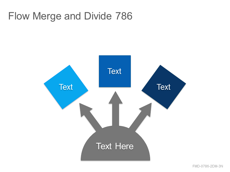 Flow Merge and Divide 786