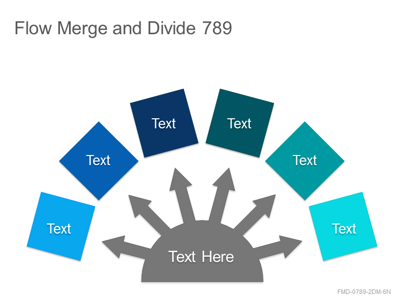 Flow Merge and Divide 789
