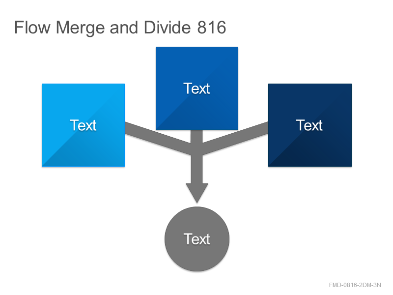 Flow Merge and Divide 816