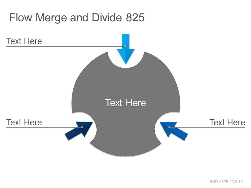 Flow Merge and Divide 825