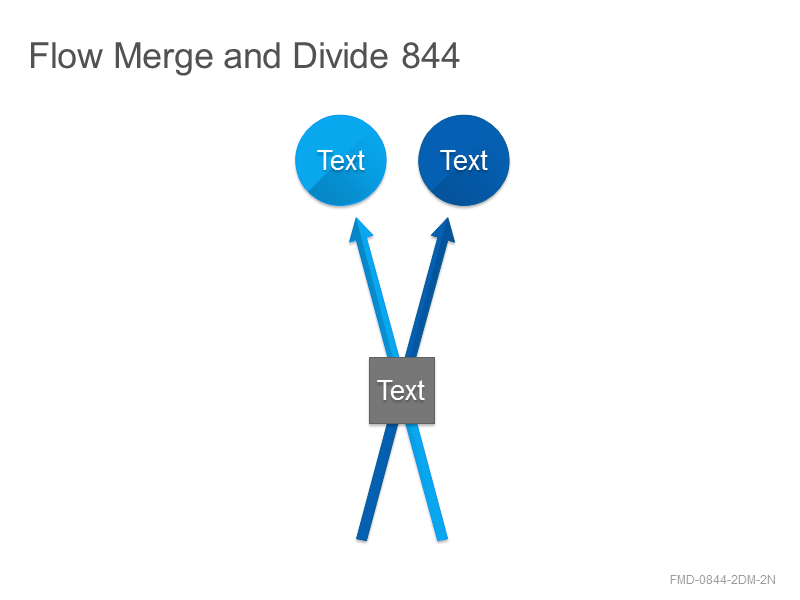 Flow Merge and Divide 844