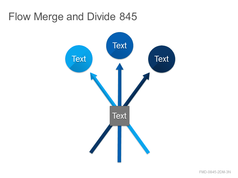Flow Merge and Divide 845