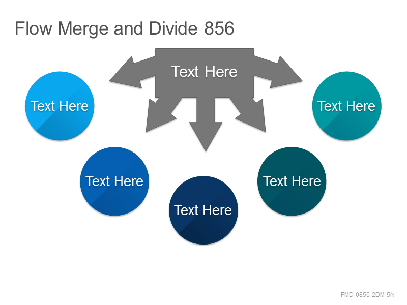 Flow Merge and Divide 856