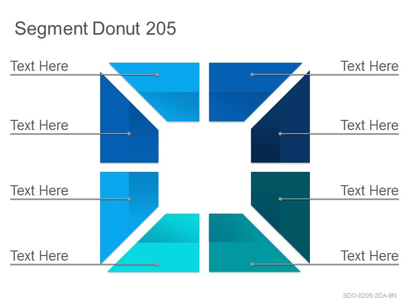 Segment Donut 205