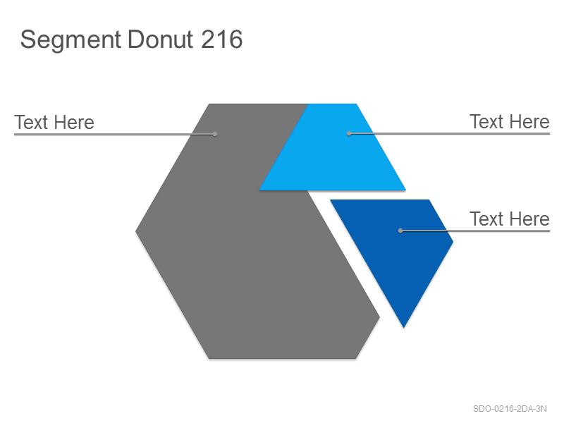 Segment Donut 216