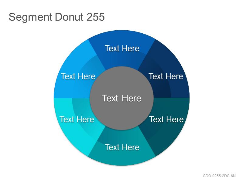 Segment Donut 255