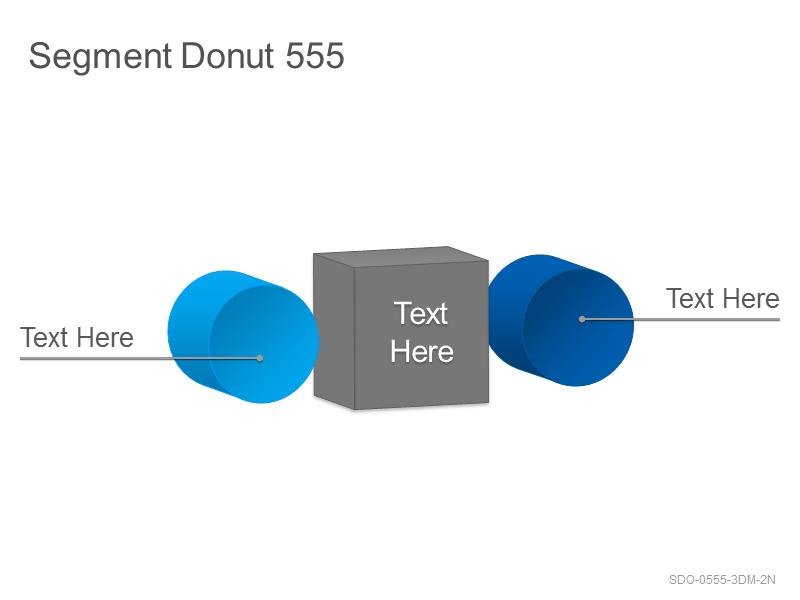 Segment Donut 555