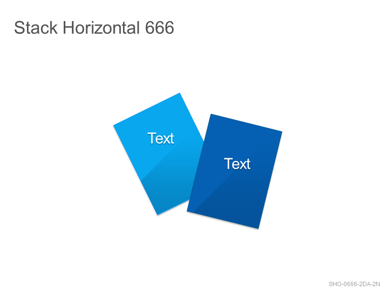 Stack Horizontal 666