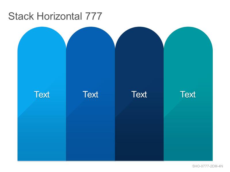 Stack Horizontal 777
