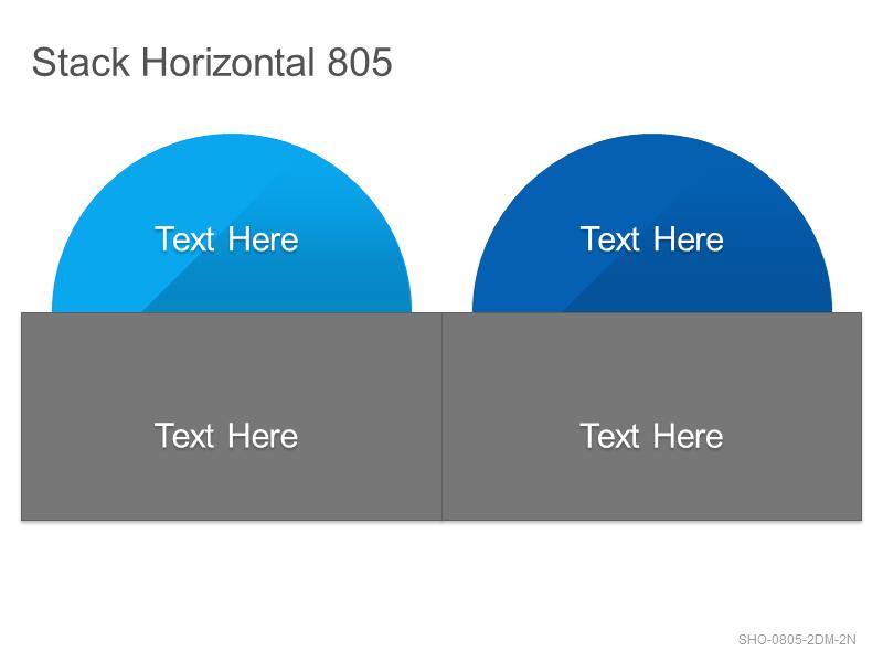 Stack Horizontal 805