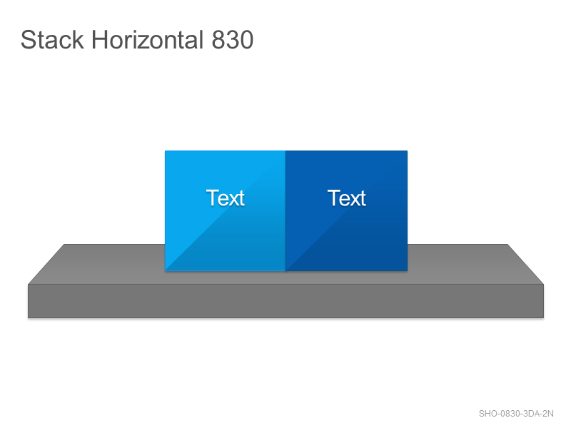 Stack Horizontal 830