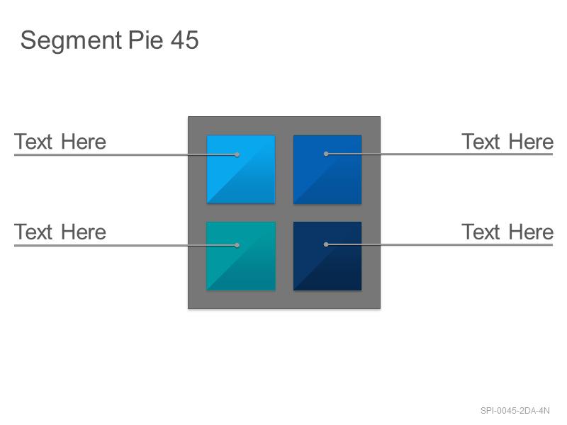 Segment Pie 45