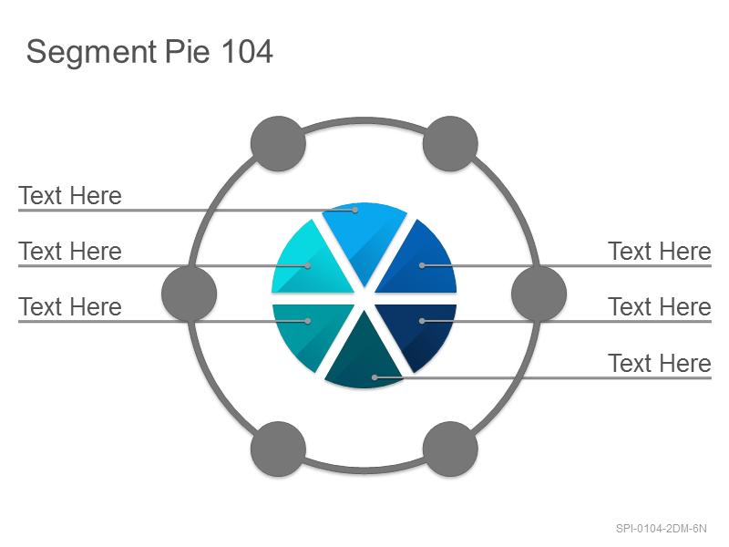 Segment Pie 104